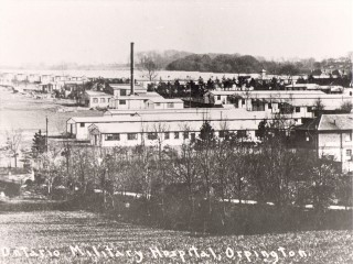 View of hospital buildings at the Ontario Military Hospital, Orpington.