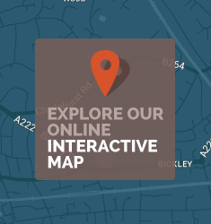Explore our online interactive map