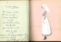 Nurse Harvey's autograph album