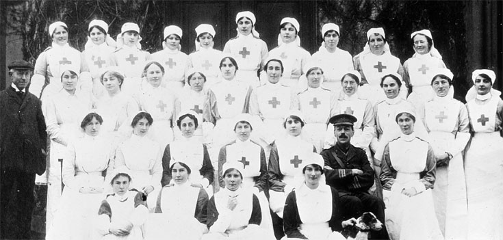 Find out about the people who cared for the casualties of the First World War