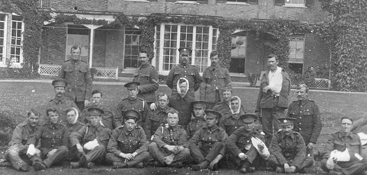 Discover buildings and places associated with caring for casualties of the First World War