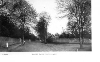 Black and white image of The Gorse, Chislehurst | Courtesy of The Chislehurst Society Ribbons Collection