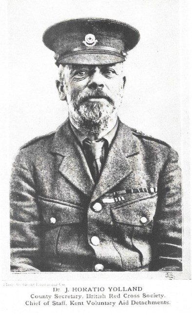 Col/Dr John Horatio Yolland M.R.C.S. CBE | Kent's Care for the Wounded